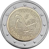 Viro 2 € 2021 Suomalais-ugrialaiset kansat