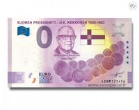 Suomi 0 € 2021 U.K. Kekkonen - Suomen Presidentit Special Edition UNC
