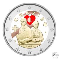 Italia 2 € 2021 Terveydenhuollon ammattilaiset, väritetty (#1)