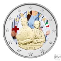 Italia 2 € 2021 Terveydenhuollon ammattilaiset, väritetty (#2)