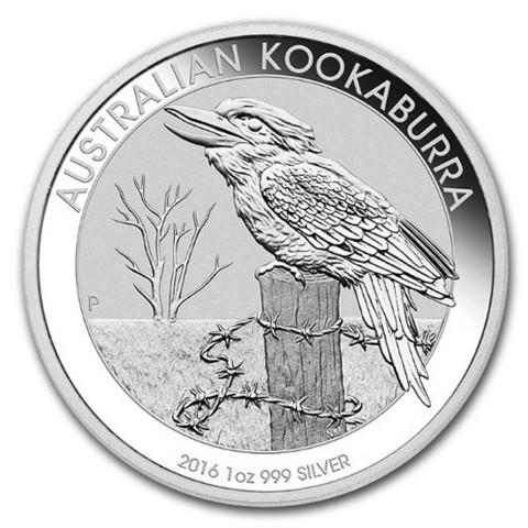 Australia 2016 Kookaburra hopearaha 1 unssi