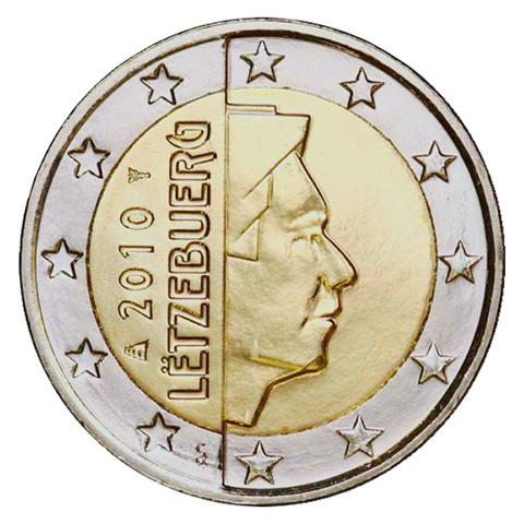Luxemburg 2 € 2020 Suurherttua Henri UNC