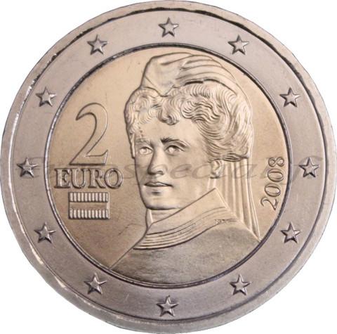 Itävalta 2 € 2003 Bertha von Suttner UNC