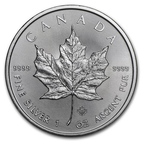 Kanada 2015 Maple Leaf hopearaha 1 oz