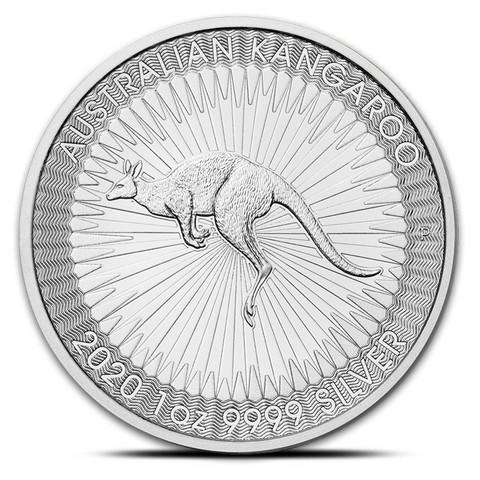 Australia 2020 Kenguru 1 oz hopearaha