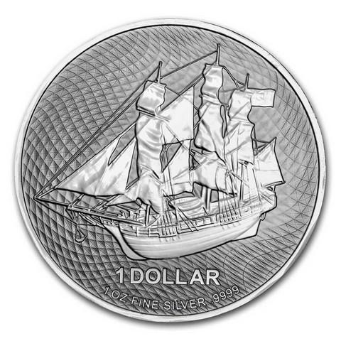 Cook Islands 2021 Bounty 1oz hopearaha