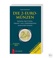 2 euron erikoisrahat-kirja: Mario Kamphoff, 12. painos (2021)