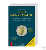Euroalueen kolikot -kirja: Gerhard Schön, 20. painos (2021)