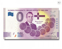 Suomi 0 € 2021 Mauno Koivisto - Suomen Presidentit UNC