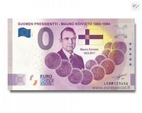 Suomi 0 € 2021 Mauno Koivisto - Suomen Presidentit Special Edition UNC