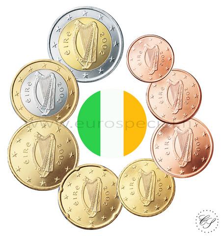 Irlanti 1s - 2 € 2021 BU