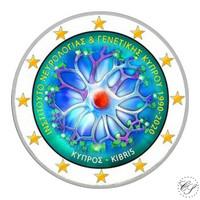 Kypros 2 € 2020 Neurologia & Genetiikka, väritetty (#3)
