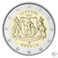 Liettua 2 € 2021 Dzukija