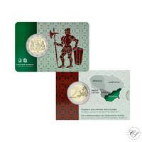 Liettua 2 € 2021 Dzukija, BU coincard