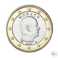 Monaco 1 € 2021 Albert II UNC