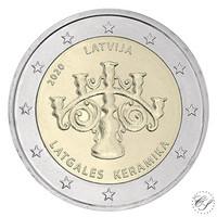 Latvia 2 € 2020 Latgalen keramiikka