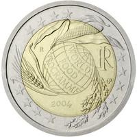 Italia 2 € 2004 Maailman elintarvikeohjelma