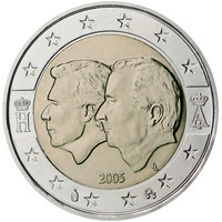 Belgia 2 € 2005 Belgian & Luxemburgin talousliitto