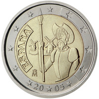Espanja 2 € 2005 Don Quijote