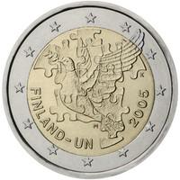 Suomi 2 € 2005 YK 50 vuotta