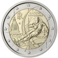 Italia 2 € 2006 Torinon olympialaiset