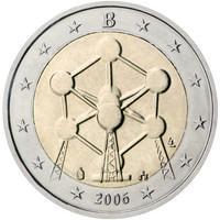 Belgia 2 € 2006 Atomium