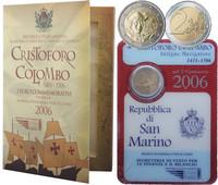 San Marino 2 € 2006 Kristoffer Kolumbus