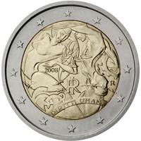 Italia 2 € 2008 Ihmisoikeuksien julistuksen 60. vuosipäivä