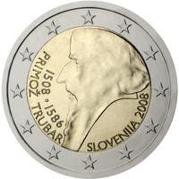 Slovenia 2 € 2008 Primoz Trubar