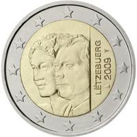 Luxemburg 2 € 2009 suurherttuatar Chalotte