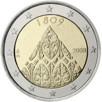 Suomi 2 € 2009 Autonomia 200 vuotta