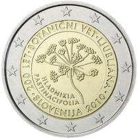 Slovenia 2 € 2010 Ljubljanan kasvitieteellinen puutarha 200 v.