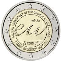 Belgia 2 € 2010 EU- puheenjohtajuus