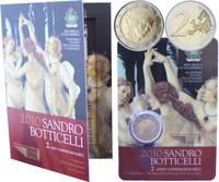 San Marino 2 € 2010 Sandro Botticelli