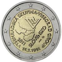 Slovakia 2 € 2011 Visegrád- ryhmä