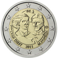 Belgia 2 € 2011 Kansainvälinen naistenpäivä 100 vuotta