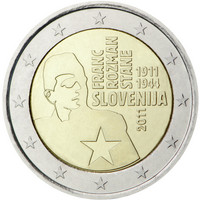 Slovenia 2 € 2011 Franc Rozman