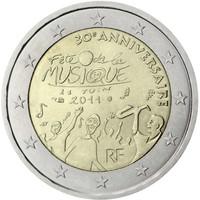 Ranska 2 € 2011 Fête de la Musique
