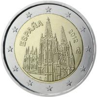 Espanja 2 € 2012 Burgosin katedraali