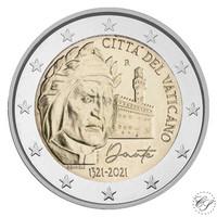 Vatikaani 2 € 2021 Dante Alighieri BU