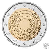 Slovenia 2 € 2021 Carniolan museo 200 vuotta