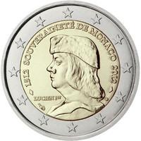 Monaco 2 € 2012 Lucien I Grimaldi