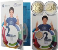San Marino 2 € 2012 Euro 10 vuotta