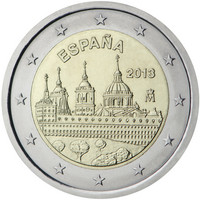 Espanja 2 € 2013 El Escorial