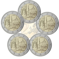 Saksa 2 € 2013 Baden-Württenberg / Maulbronn A-J