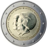 Alankomaat 2 € 2013 Double Portrait
