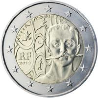 Ranska 2 € 2013 Pierre de Coubertin