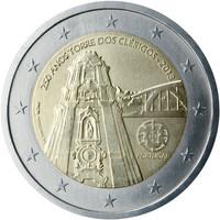 Portugali 2 € 2013 Torre dos Clérigos