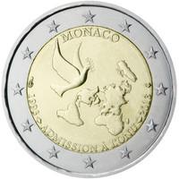 Monaco 2 € 2013 YK- jäsenyys 20 vuotta