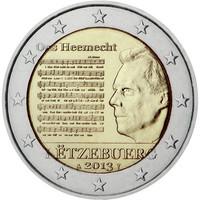 Luxemburg 2 € 2013 Suurherttuakunnan kansallishymni